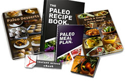 Paleo Recipe Book & Bonus Books
