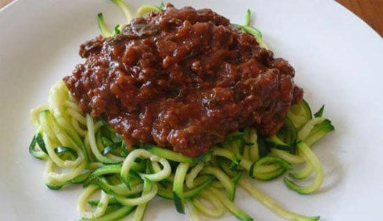 Paleo Spaghetti Bolognaise